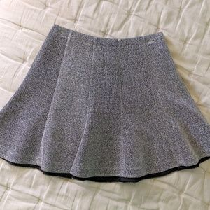 Silver sparkly skirt- size: 4, never worn
